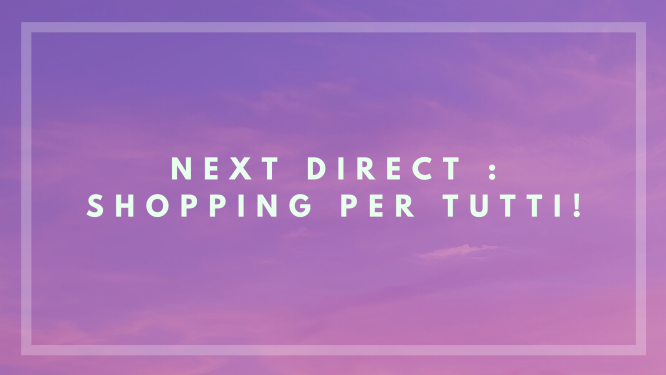 Next direct: shopping per tutti
