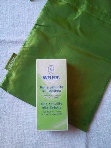 rimedi per ridurre la cellulite, olio anticellulite Weleda