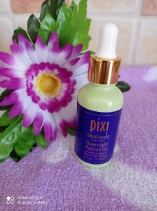 olio Pixi beauty al retinolo da notte
