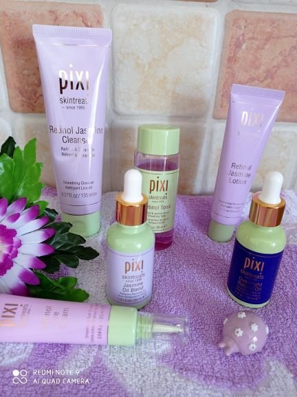 retinol e jasmine collection pixi beauty