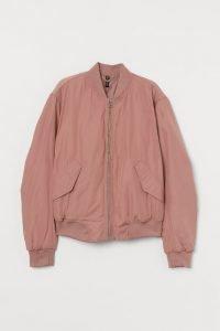 bomber rosa h&m