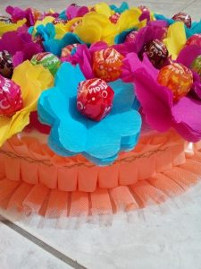 torta di chupa chups