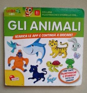 libro per bambini gli animali