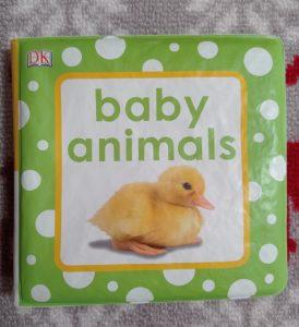 libro per bambini in plastica