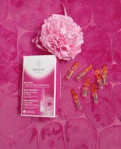 concentrato levigante di Weleda alla rosa mosqueta