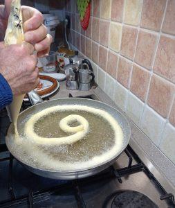 preparazione zippole sarde