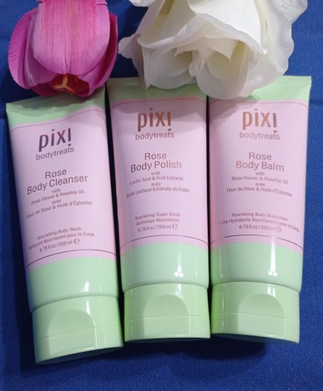 linea rose body di Pixi Beauty